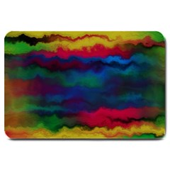 Watercolour Color Background Large Doormat