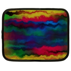 Watercolour Color Background Netbook Case (large)