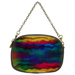 Watercolour Color Background Chain Purses (two Sides)