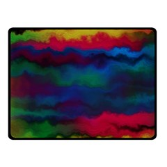 Watercolour Color Background Fleece Blanket (small)