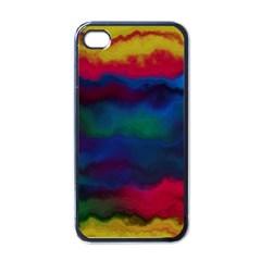 Watercolour Color Background Apple Iphone 4 Case (black)