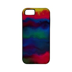 Watercolour Color Background Apple Iphone 5 Classic Hardshell Case (pc+silicone)