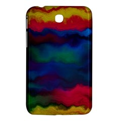 Watercolour Color Background Samsung Galaxy Tab 3 (7 ) P3200 Hardshell Case