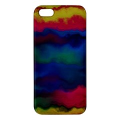 Watercolour Color Background Iphone 5s/ Se Premium Hardshell Case