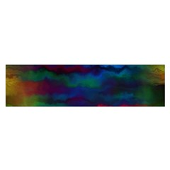 Watercolour Color Background Satin Scarf (oblong)