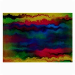 Watercolour Color Background Large Glasses Cloth