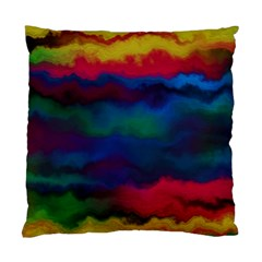 Watercolour Color Background Standard Cushion Case (two Sides)