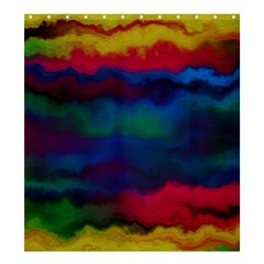Watercolour Color Background Shower Curtain 66  X 72  (large)
