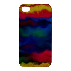 Watercolour Color Background Apple Iphone 4/4s Hardshell Case