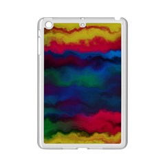 Watercolour Color Background Ipad Mini 2 Enamel Coated Cases