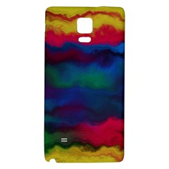 Watercolour Color Background Galaxy Note 4 Back Case