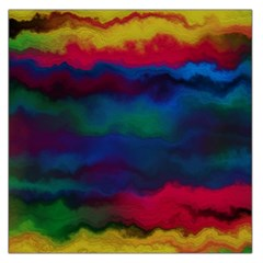 Watercolour Color Background Large Satin Scarf (square)