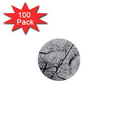 Abstract Background Texture Grey 1  Mini Magnets (100 Pack)