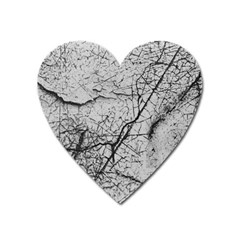 Abstract Background Texture Grey Heart Magnet