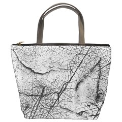 Abstract Background Texture Grey Bucket Bags