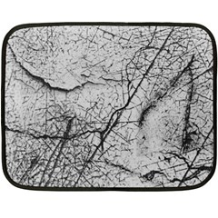 Abstract Background Texture Grey Double Sided Fleece Blanket (mini)