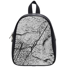 Abstract Background Texture Grey School Bag (small)