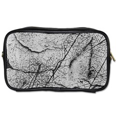 Abstract Background Texture Grey Toiletries Bags 2 Side
