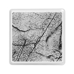 Abstract Background Texture Grey Memory Card Reader (square)