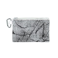 Abstract Background Texture Grey Canvas Cosmetic Bag (s)