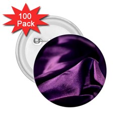 Shiny Purple Silk Royalty 2 25  Buttons (100 Pack)