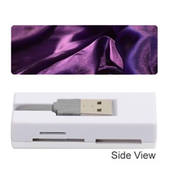 Shiny Purple Silk Royalty Memory Card Reader (stick)