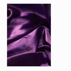 Shiny Purple Silk Royalty Large Garden Flag (two Sides)