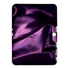 Shiny Purple Silk Royalty Samsung Galaxy Tab 4 (10 1 ) Hardshell Case