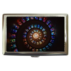 Stained Glass Spiral Circle Pattern Cigarette Money Cases