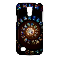 Stained Glass Spiral Circle Pattern Galaxy S4 Mini