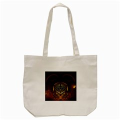 Fractal 3d Render Design Backdrop Tote Bag (cream)