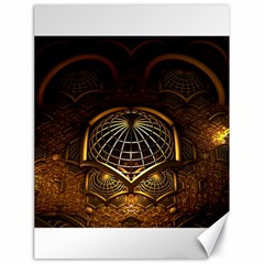 Fractal 3d Render Design Backdrop Canvas 18  X 24