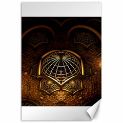 Fractal 3d Render Design Backdrop Canvas 20  X 30