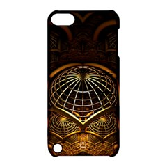 Fractal 3d Render Design Backdrop Apple Ipod Touch 5 Hardshell Case With Stand