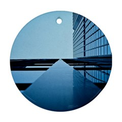 Architecture Modern Building Facade Round Ornament (two Sides)
