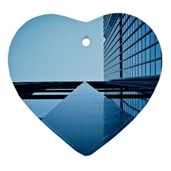 Architecture Modern Building Facade Heart Ornament (two Sides)