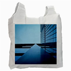 Architecture Modern Building Facade Recycle Bag (one Side)