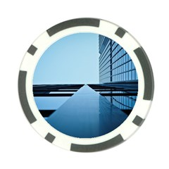 Architecture Modern Building Facade Poker Chip Card Guard (10 Pack)