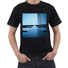 Architecture Modern Building Facade Men s T Shirt (black)