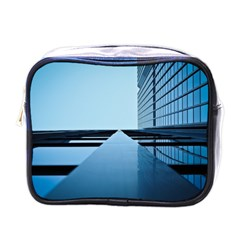 Architecture Modern Building Facade Mini Toiletries Bags