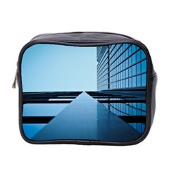 Architecture Modern Building Facade Mini Toiletries Bag 2 Side