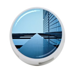 Architecture Modern Building Facade 4 Port Usb Hub (two Sides)