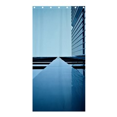 Architecture Modern Building Facade Shower Curtain 36  X 72  (stall)