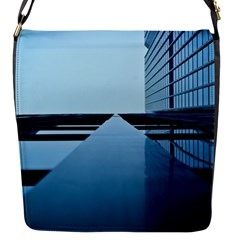 Architecture Modern Building Facade Flap Messenger Bag (s)