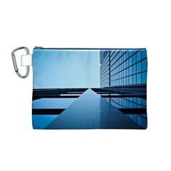 Architecture Modern Building Facade Canvas Cosmetic Bag (m)