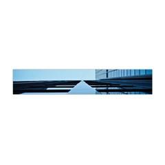 Architecture Modern Building Facade Flano Scarf (mini)