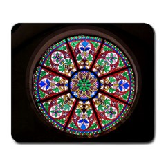 Church Window Window Rosette Large Mousepads