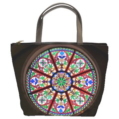 Church Window Window Rosette Bucket Bags