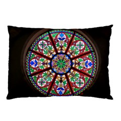 Church Window Window Rosette Pillow Case (two Sides)