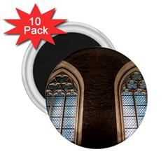 Church Window Church 2 25  Magnets (10 Pack)